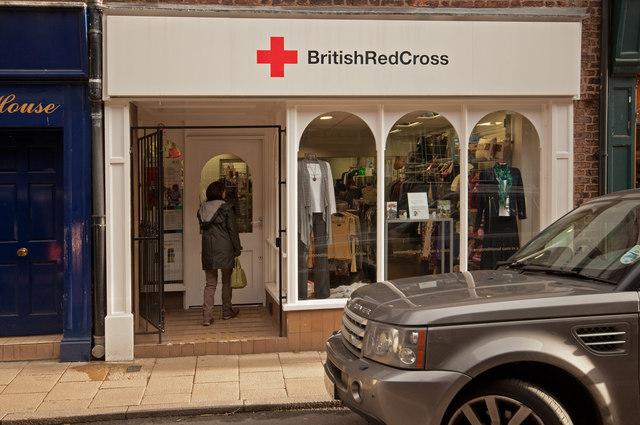 Red Cross Charity Shop, King Street, Knutsford