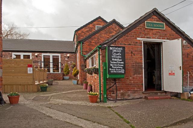 The Cafe at Lady Hayes near Frodsham