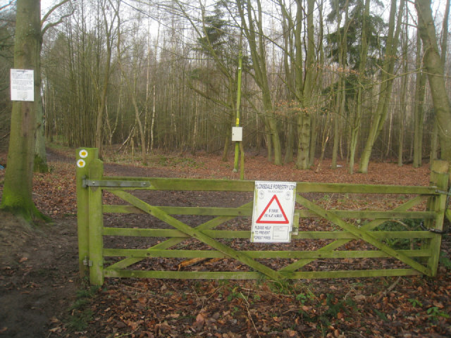 Access to Sandford Wood