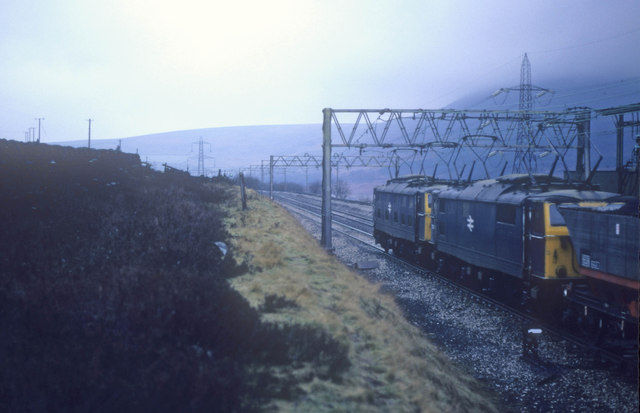When trains passed over Torside