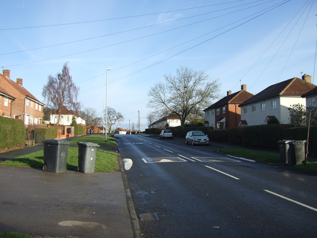 Eastwood Lane heading north