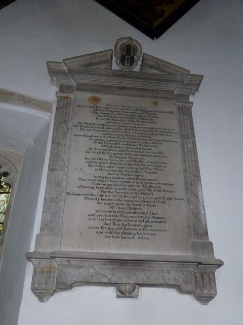 St Mary's Church, Breamore- memorial (k)
