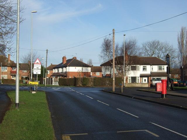 Penda's Way towards Barwick Road