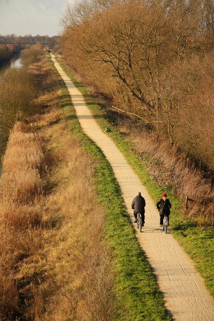 Fossdyke cycle path