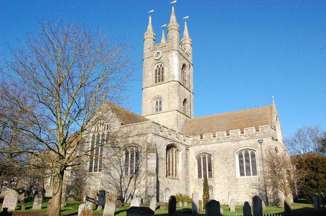 St Mary's church, Ashford