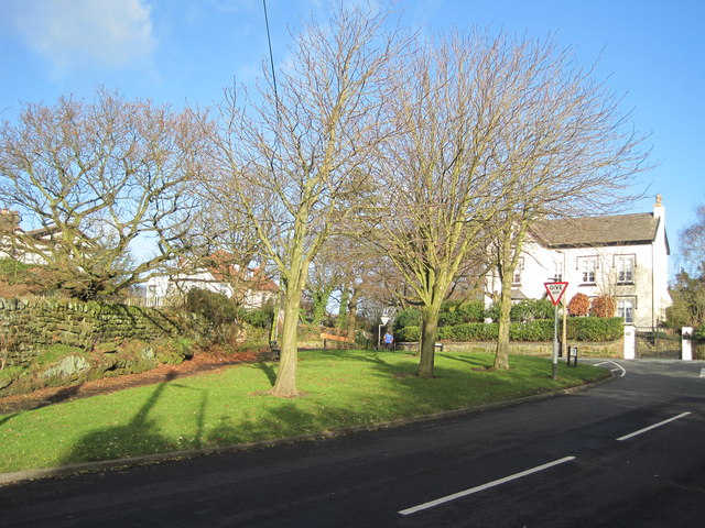 The junction of Blundell's Lane and Mill Lane