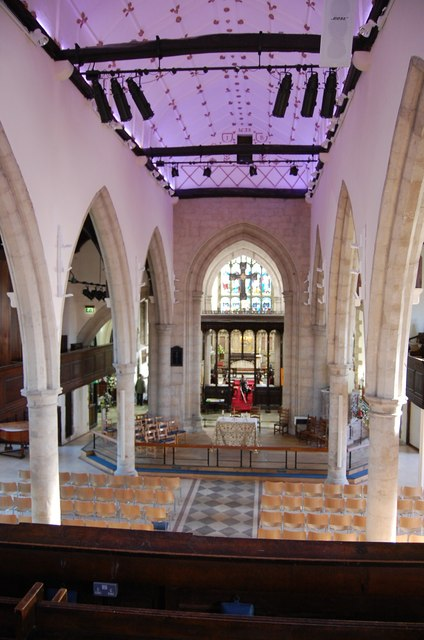 Interior, St Mary's church