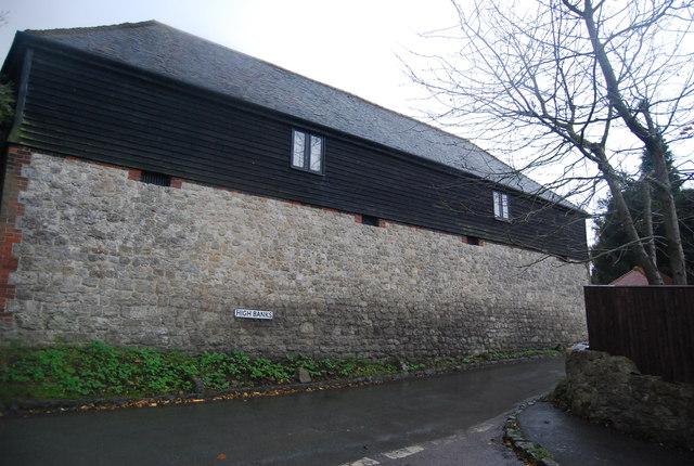 Converted barn, High Banks