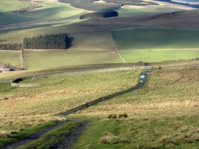 The Meigle Hill Road