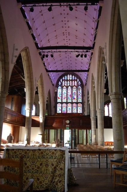 St Mary's church, Interior