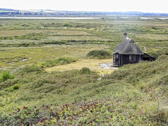 Hut on Scolt Head Island
