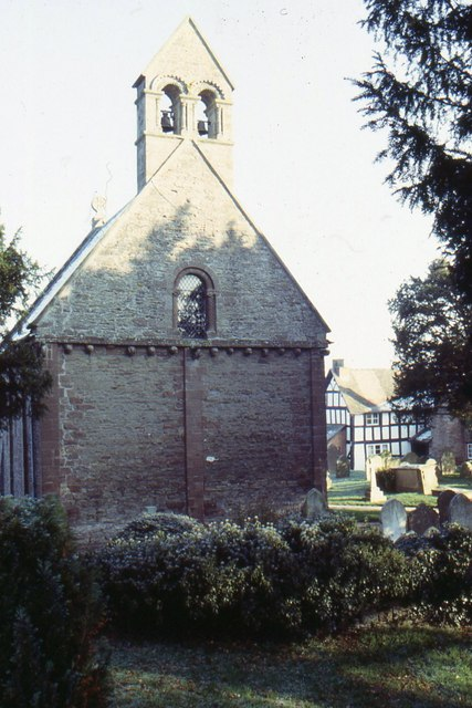 Kilpeck church, west end