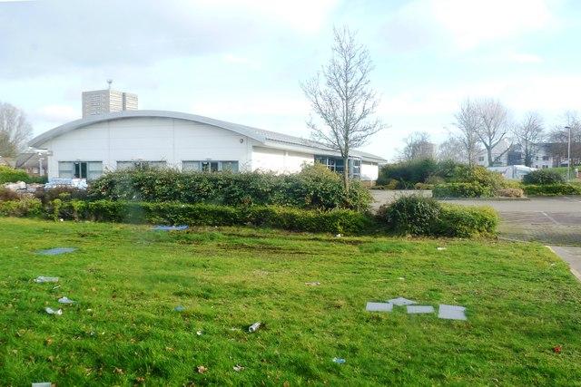 Derelict Industrial Unit - Newtown