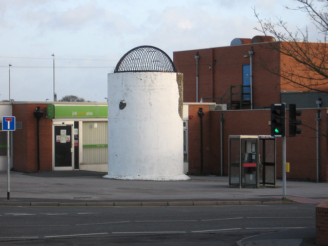Clay Cross - Job Centre and tunnel vent