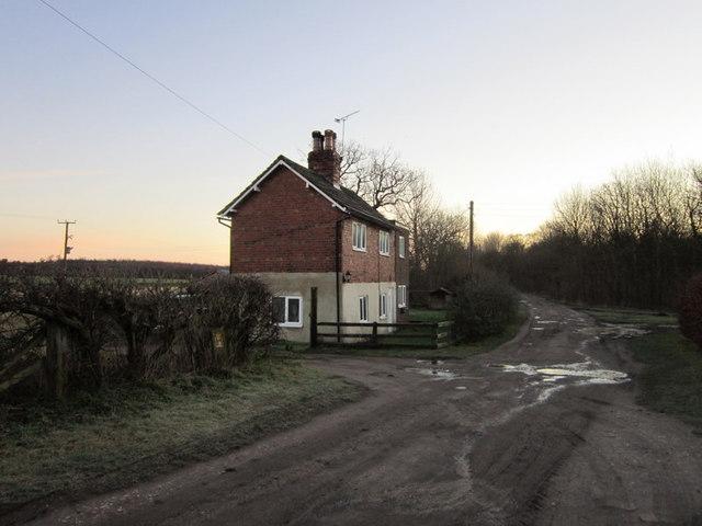 Old Staithe Cottage on Parlington Lane