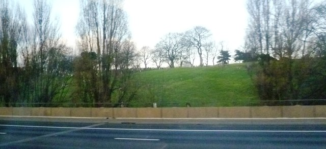 Witton Cemetery from the M6