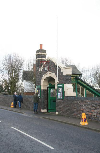 Rothley Station - entrance