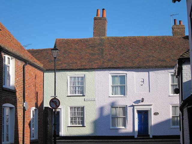 Houses on High Street