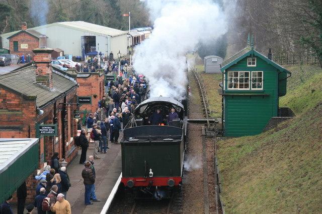 Rothley Station - steam gala