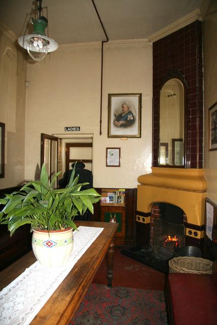 Rothley Station waiting room