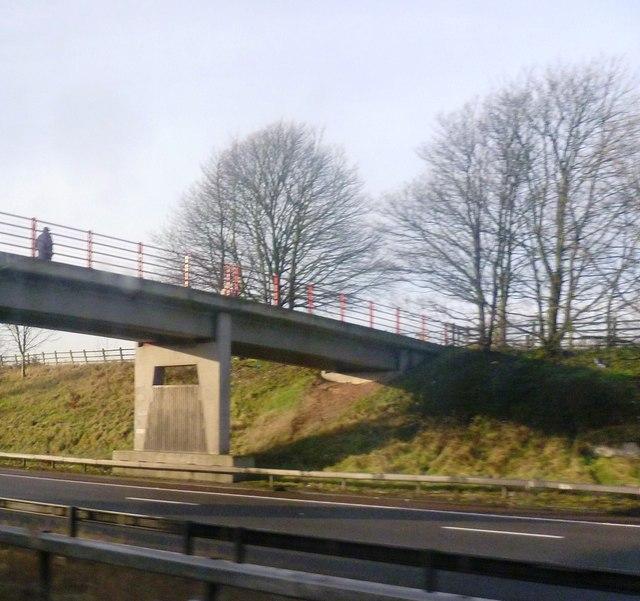 Bridge over the M6
