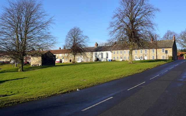 East end of North Side, Stamfordham
