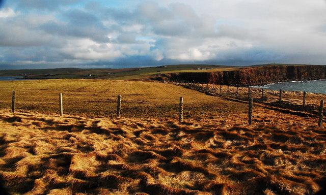 Looking eastwards from Murka Hole
