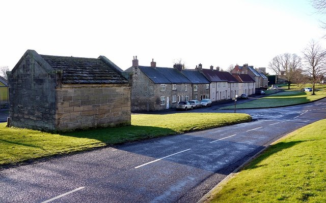 Stamfordham Green, South Side