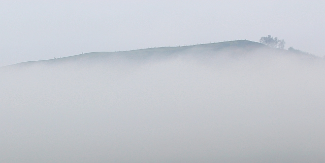 Black Hill in the mist