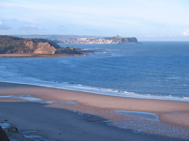Across Cayton Bay
