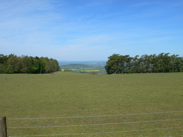 View west towards Gloucester, north of Birdlip