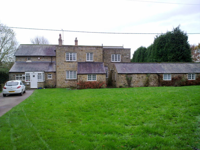 Houses at Eland Hall