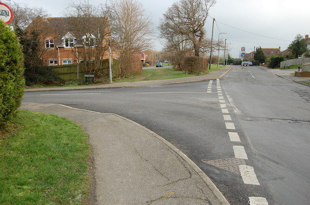 Junction of Swan Road with Station Road, Hailsham