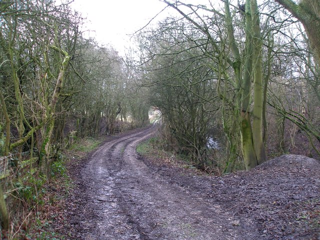 Track near Park Gate