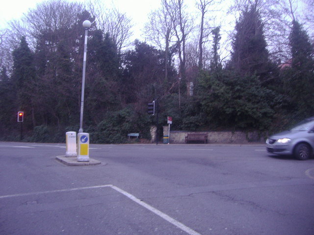 Crossroads at Wickham Road and Bromley Road