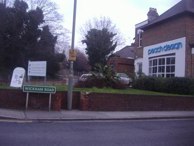 Peach Design, Wickham Road Beckenham