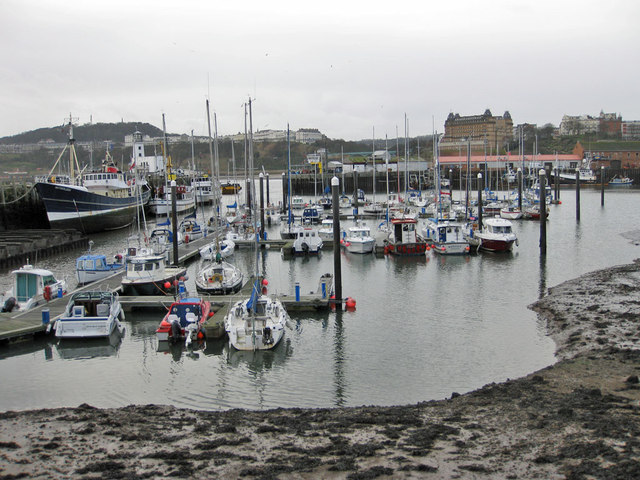 Dull day in the old harbour