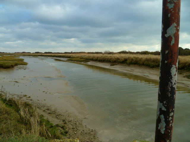 Ferry Channel in Pagham Harbour