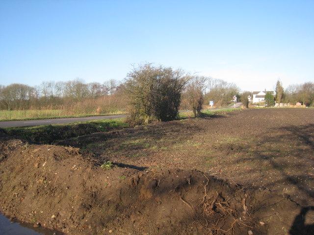 View towards Beech Hill Crossing