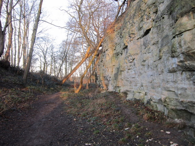 A permissive path at Becca Banks