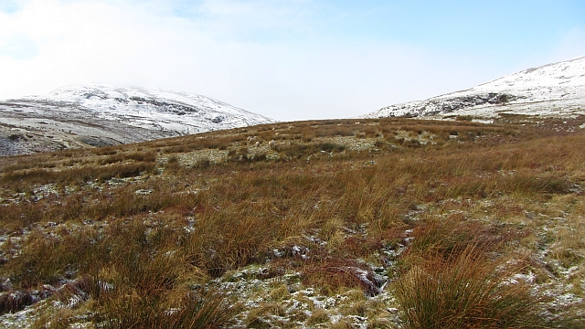 Laird's Hill and the glen of the Garrell Burn