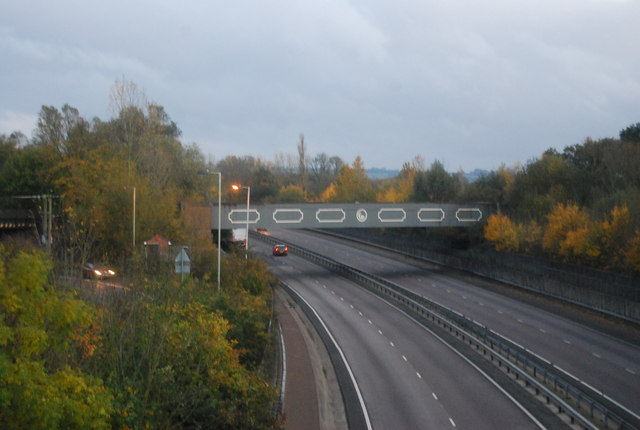 Railway Bridge over the Blackwater Valley Road