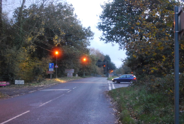 Camp Farm Rd, Government Rd junction
