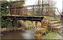 J2764 : Footbridge, Lisburn/Hilden (1) by Albert Bridge