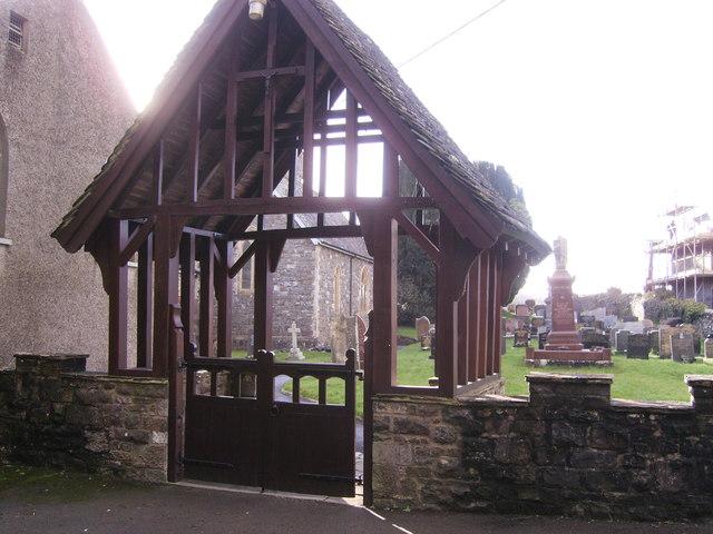 St. Mary's Church Llanllwch gate house