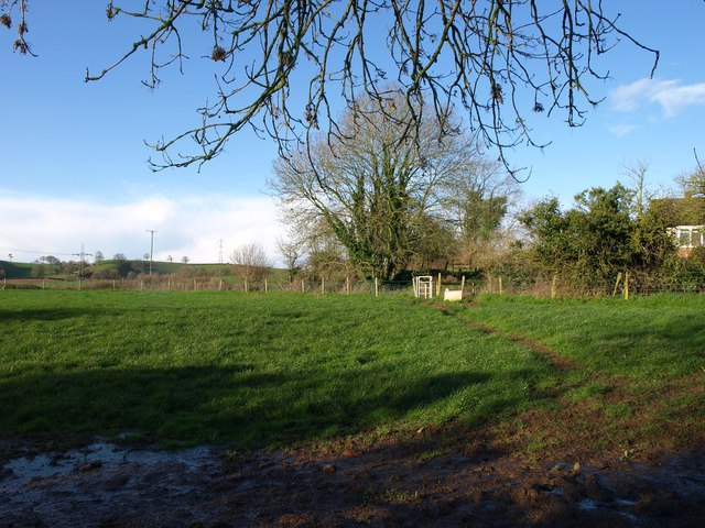 Footpath at Curscombe