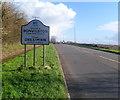 ST0573 : Western boundary of Bonvilston by Jaggery