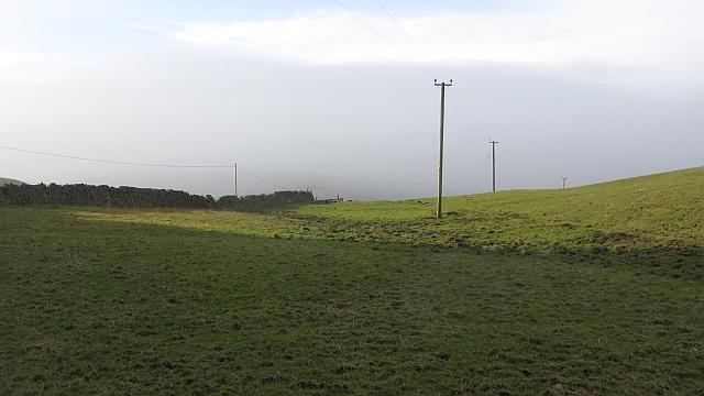 Power lines, Symington Hill