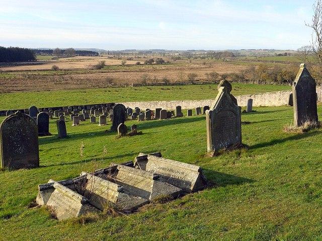 Graveyard west of St Mary's Church, Stamfordham