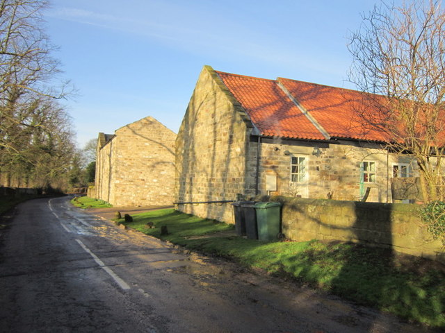 Far Barn on Potterton Lane